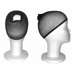 Czarny wig cap