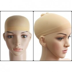 Beżowy wig cap - rajstopka
